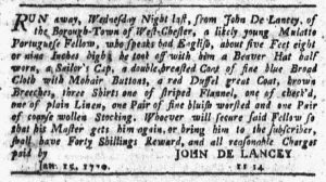Jan 25 1770 - New-York Journal Slavery 2