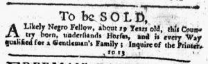 Jan 25 1770 - New-York Journal Slavery 3