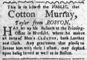 Jan 29 - 1:29:1770 Connecticut Courant