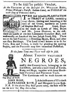 Jan 30 - 1:30:1770 South-Carolina Gazette and Country Journal