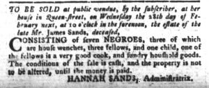 Jan 30 1770 - South-Carolina Gazette and Country Journal Slavery 3