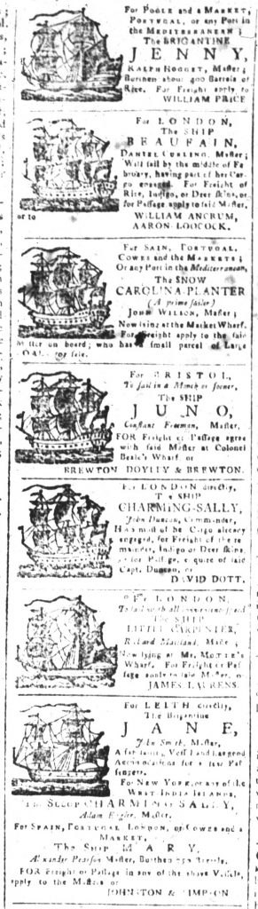 Jan 31 - 1:31:1770 South-Carolina and American General Gazette