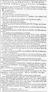Jan 31 1770 - Georgia Gazette Slavery 1