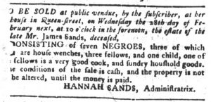 Feb 13 1770 - South-Carolina Gazette and Country Journal Slavery 3