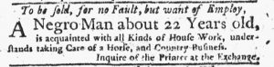 Feb 15 1770 - New-York Journal Slavery 1