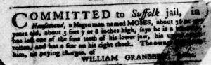 Feb 15 1770 - Virginia Gazette Purdie & Dixon Slavery 7