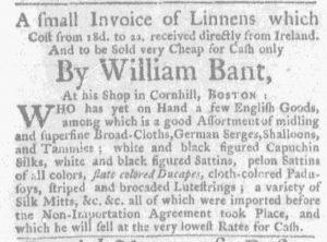 Feb 18 - 2:15:1770 Massachusetts Gazette and Boston Weekly News-Letter