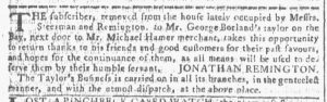 Feb 21 - 2:21:1770 Georgia Gazette