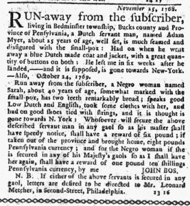 Feb 22 1770 - New-York Journal Slavery 2