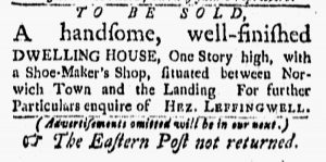 Feb 23 - 2:23:1770 New-London Gazette