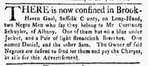 Feb 26 1770 - New-York Gazette and Weekly Mercury Slavery 4