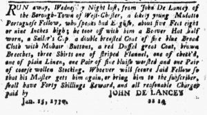 Feb 8 1770 - New-York Journal Supplement Slavery 2