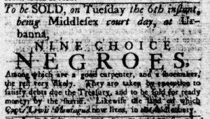 Mar 1 1770 - Virginia Gazette Rind Slavery 2