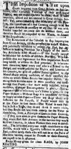 Mar 12 - 3:12:1770 New-York Gazette and Weekly Mercury