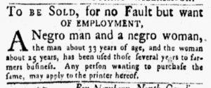 Mar 5 1770 - New-York Gazette and Weekly Mercury Slavery 3