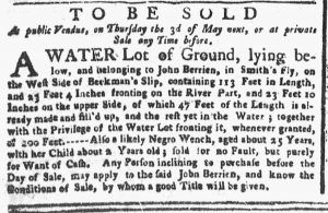 Apr 2 1770 - New-York Gazette or Weekly Post-Boy Slavery 3