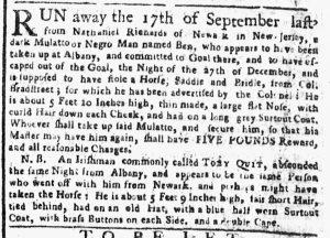 Apr 2 1770 - New-York Gazette or Weekly Post-Boy Slavery 4