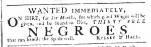 Apr 5 1770 - South-Carolina Gazette Supplement Slavery 6