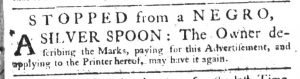 Apr 5 1770 - South-Carolina Gazette Supplement Slavery 7