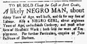 Apr 6 1770 - New-Hampshire Gazette Slavery 1