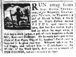Apr 6 1770 - South-Carolina and American General Gazette Slavery 3