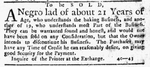 Aug 30 1770 - New-York Journal Slavery 2