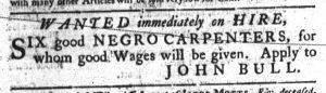 Aug 30 1770 - South-Carolina Gazette Continuation Slavery 3