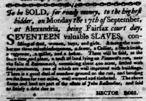 Aug 30 1770 - Virginia Gazette Purdie & Dixon Slavery 4