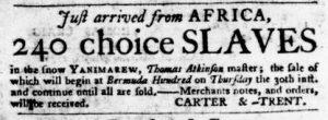 Aug 30 1770 - Virginia Gazette Purdie & Dixon Slavery 5