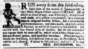 Aug 30 1770 - Virginia Gazette Purdie & Dixon Slavery 8
