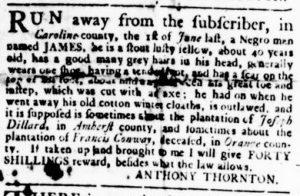 Aug 30 1770 - Virginia Gazette Rind Slavery 4