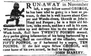 Mar 20 1770 - South-Carolina Gazette and Country Journal Slavery 4