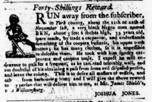 Mar 22 1770 - Virginia Gazette Purdie & Dixon Slavery 2