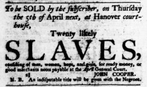 Mar 22 1770 - Virginia Gazette Purdie & Dixon Slavery 4