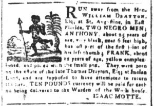 Mar 26 1770 - South-Carolina and American General Gazette Slavery 2