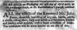Mar 27 1770 - South-Carolina Gazette and Country Journal Slavery 14