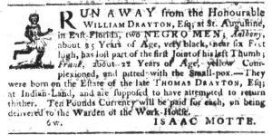Mar 29 1770 - South-Carolina Gazette Slavery 2