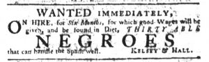 Mar 29 1770 - South-Carolina Gazette Slavery 4