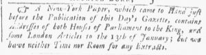 Mar 31 - 3:31:1770 Providence Gazette