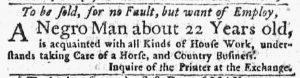 Mar 8 1770 - New-York Journal Slavery 3