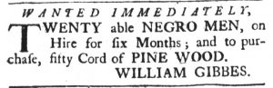 Mar 8 1770 - South-Carolina Gazette Slavery 10