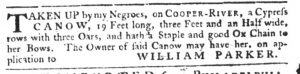 Mar 8 1770 - South-Carolina Gazette Slavery 3