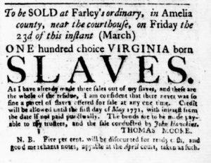 Mar 8 1770 - Virginia Gazette Purdie & Dixon Slavery 6