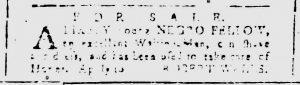 Mar 9 1770 - South-Carolina and American General Gazette Slavery 7