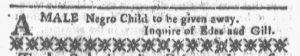 Oct 1 1770 - Boston-Gazette Slavery 4