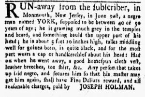 Oct 1 1770 - New-York Gazette and Weekly Mercury Slavery 4