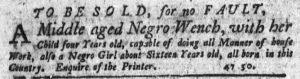 Oct 11 1770 - New-York Journal Slavery 1
