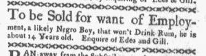 Oct 15 1770 - Boston-Gazette Slavery 2