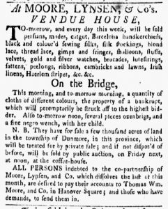 Oct 15 1770 - New-York Gazette and Weekly Mercury Slavery 1