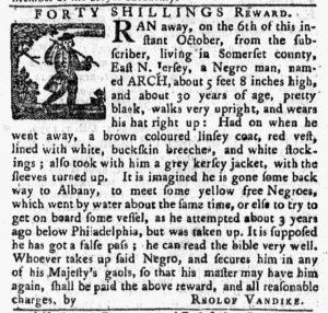 Oct 15 1770 - Pennsylvania Chronicle Slavery 1